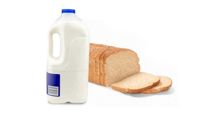 Milk, Bread During Snowstorm